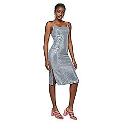 Miss Selfridge - Sequin midi slip dress