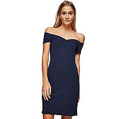 Miss Selfridge - Navy sweetheart dress