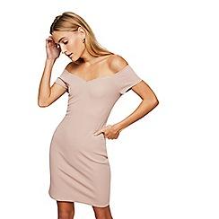 Miss Selfridge - Dusty pink sweetheart dress