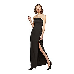 Miss Selfridge - Bandeau ruffle prom dress