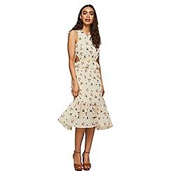 Miss Selfridge - Backless midi shift dress