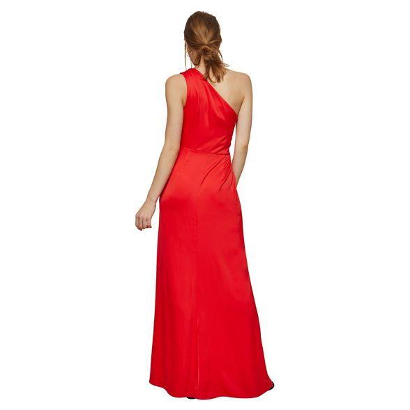 shoulder Miss Selfridge maxi dress one Red prom qnBwRBtpA