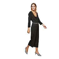 Miss Selfridge - Wrap barbara culotte jumpsuit