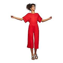 Miss Selfridge - Orange kimono sleeve jumpsuit