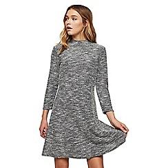Miss Selfridge - Boucle swing dress