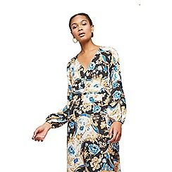Miss Selfridge - Chain floral print maxi dress