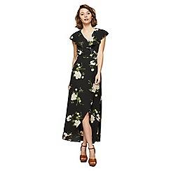 Miss Selfridge - Black marjori maxi dress