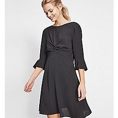 Miss Selfridge - Twist front sleeves dress