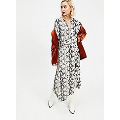 Miss Selfridge - Multicoloured Print D-Ring Dress