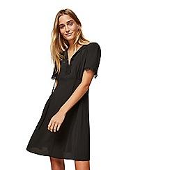 Miss Selfridge - Black lace tea dress