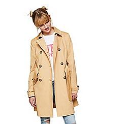 Miss Selfridge - Camel trench coat