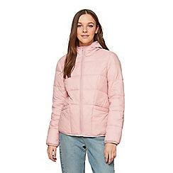 Miss Selfridge - Pink lightweight puffer jacket