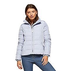 Miss Selfridge - Blue puffer coat
