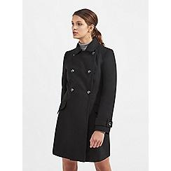 Miss Selfridge - Black pea coat