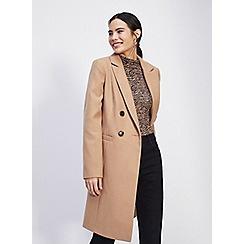Miss Selfridge - Camel coat