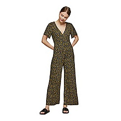 Miss Selfridge - Petite jersey wrap jumpsuit