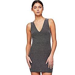 Miss Selfridge - Petite glitter dress