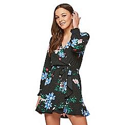 Miss Selfridge - Petite flower spot dress