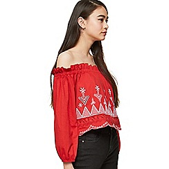 80984d9750c282 Long sleeves - Petite - Cold shoulder   bardot - Tops - Women ...