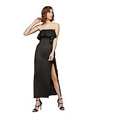 Miss Selfridge - Petite scuba ruffle maxi dress