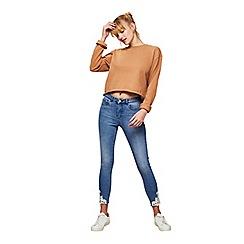 Miss Selfridge - Petite crochet hem jeans
