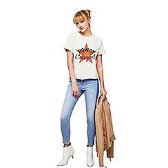Miss Selfridge - Petite lizzie side striped jeans