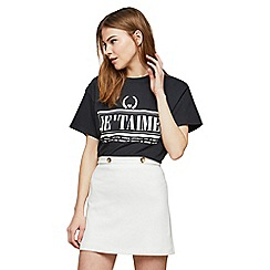 Miss Selfridge - Petite ponte skirt