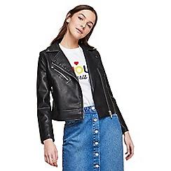 Miss Selfridge - Petite new millie biker jacket