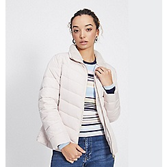 Miss Selfridge - Petite oyster puffer coat