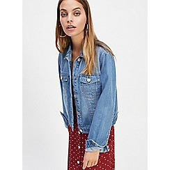 Miss Selfridge - Petite Midwash Denim Jacket