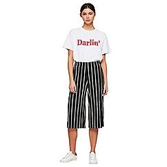 Miss Selfridge - Petites plisse trousers