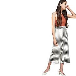 Miss Selfridge - Petite striped culotte trousers