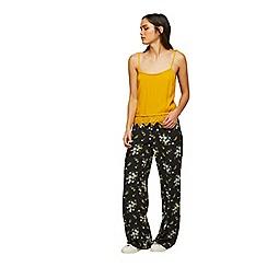Miss Selfridge - Printed stripe trousers