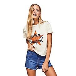 Miss Selfridge - Blue denim shorts