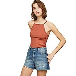 Miss Selfridge - Blue high rise vintage shorts