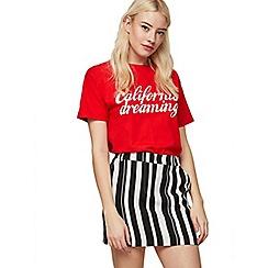 Miss Selfridge - Striped pelmet skirt