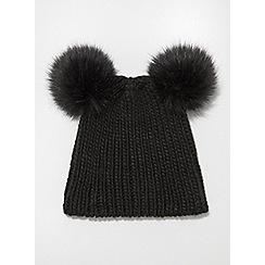b7c9d7e5fd83d black - Beanie   bobble hats - Miss Selfridge - Accessories - Women ...