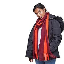 Miss Selfridge - Vertical stripe scarf