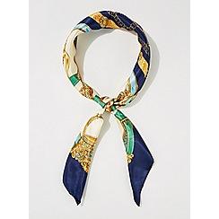 Miss Selfridge - Chain print lightweight scarf
