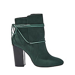 Miss Selfridge - Arial ankle wrap boots