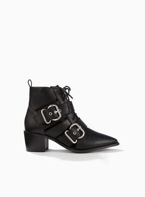 Miss Selfridge   Abigail Buckle Boots by Miss Selfridge