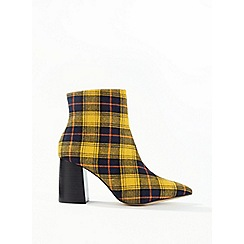 Miss Selfridge - Abi checked boots