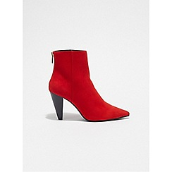 Miss Selfridge - Ally cone heel ankle boots