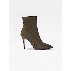Miss Selfridge - Aleka knit point stiletto boots