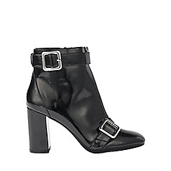Miss Selfridge - Alyssa patent zip boot