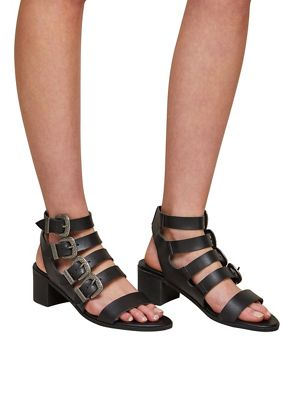 705ffec5d526 Miss Selfridge Cadee western buckle sandals