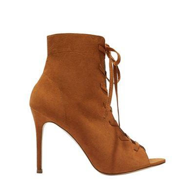 Miss Selfridge - Hazel lace up boots