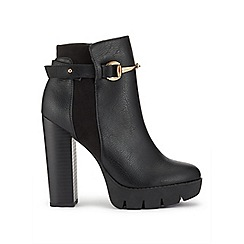 Miss Selfridge - Deal cleated platfrom boots
