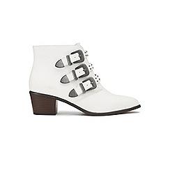 Miss Selfridge - Daisy triple buckle boots
