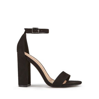 Miss Selfridge   Honey Barely There Heel Sandals by Miss Selfridge